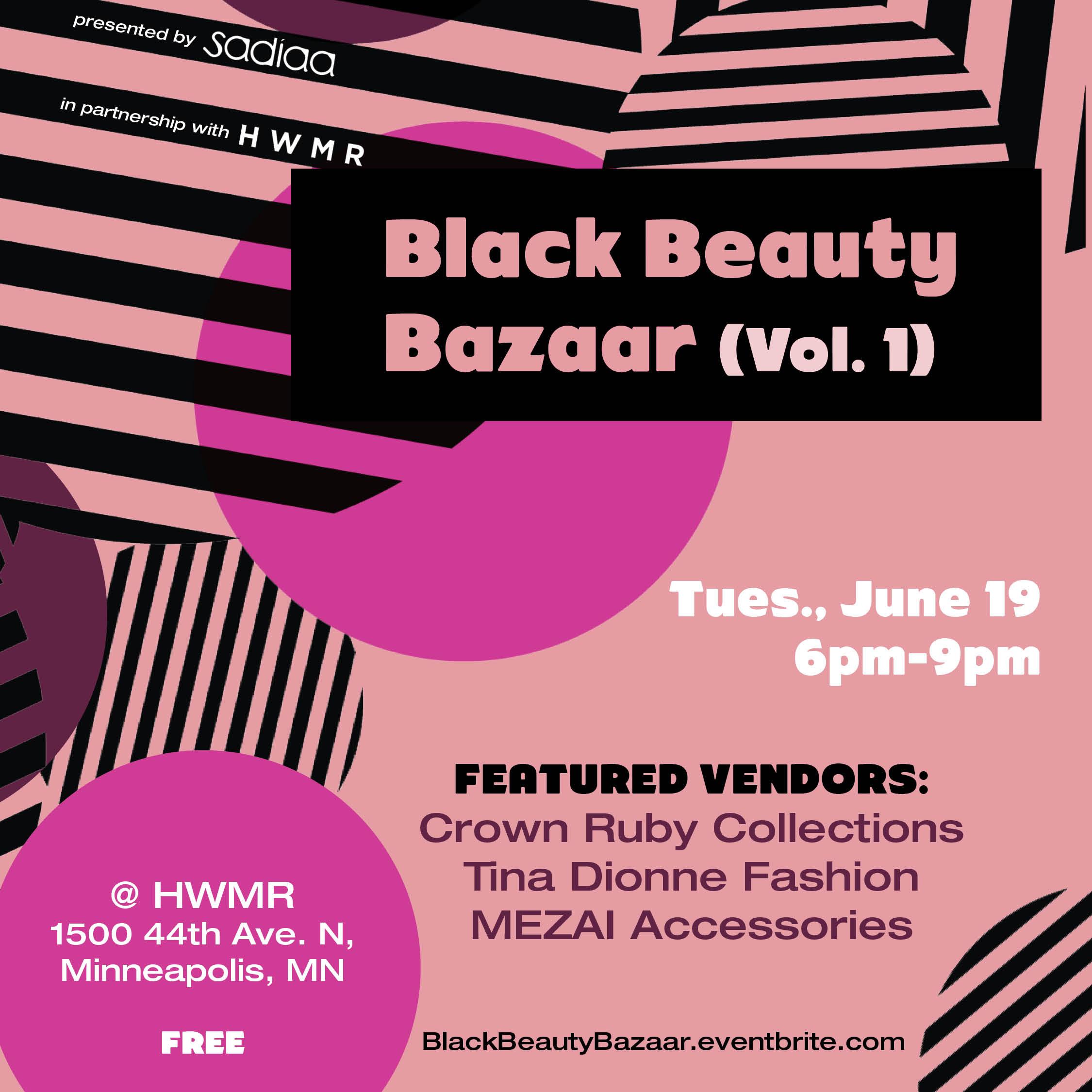 Sadiaa Black Beauty Bazaar
